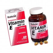 Health Aid Vitamin E 400iu Natural Vegetarian Capsules 30