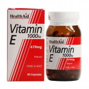 Health Aid Vitamin E 1000iu Natural Capsules 30