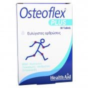 Health Aid Osteoflex Plus (Glucosamine + Chondroitin + MSM) Tablets 30