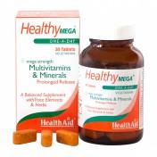 Health Aid Healthy Mega Multivit & Mineral Prolonged Release Tablets 30