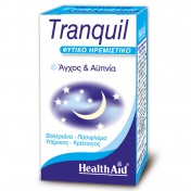 Health Aid Tranquil (Magnolia Valerian & St John's Wort Complex) Capsules 30