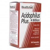 Health Aid Acidophilus Plus 4 Billion Vegetarian Capsules 60