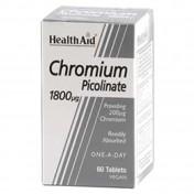 Health Aid Chromium Picolinate 200μg 60 tabs
