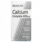 Health Aid Balanced Calcium Complete 800mg Tablets 120
