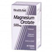 Health Aid Magnesium Orotate 500mg Tablets 30