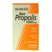 Health Aid Bee Propolis 1000mg Tablets 60
