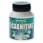 Health Aid L-Carnitine 550mg Tablets 30