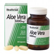 Health Aid Aloe Vera 5000mg Capsules 30