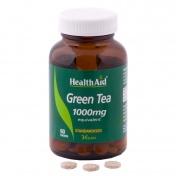 Health Aid Green Tea Extract 1000mg Tablets 60