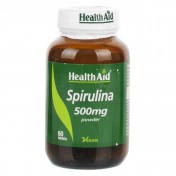 Health Aid Spirulina 500mg Tablets 60