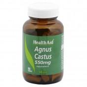 Health Aid Agnus Castus 550mg 60 tablets