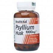 Health Aid Psyllium Husk 1000mg Capsules 60