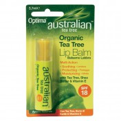 Optima Tea-Tree Lip Balm Spf18  5,7ml