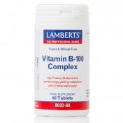 Lamberts Vitamin B-100 Complex 60 tabs