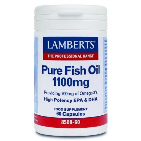 Lamberts Pure Fish Oil 1100mg 60caps αρχική   βιταμινεσ συμπληρωματα   δημοφιλεισ κατηγοριεσ   omegas   ιχθυέλαια   λ