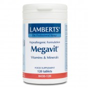 Lamberts Megavit Multivitamin 120tabs