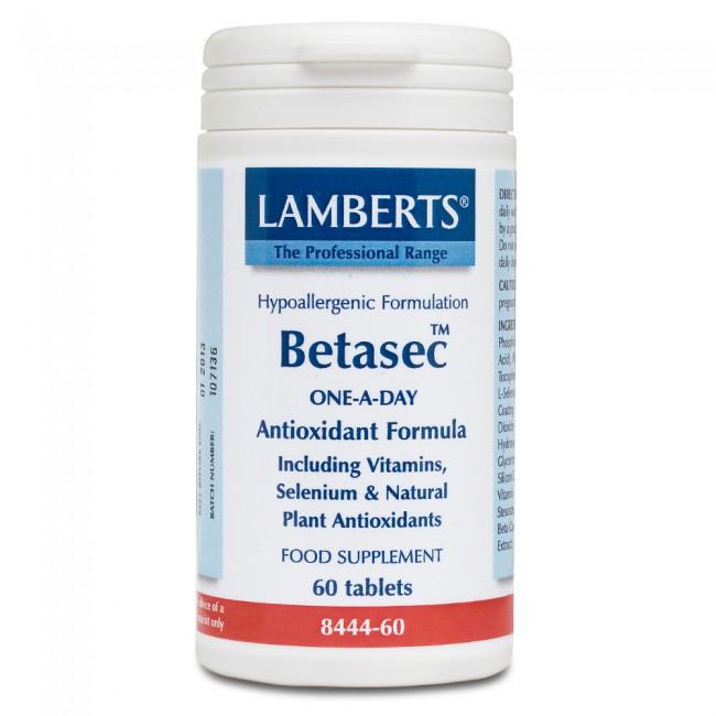 Lamberts Betasec Antioxidant 60tabs