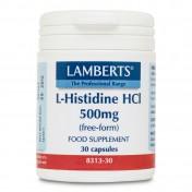 Lamberts L-Histidine 500mg 30caps