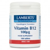 Lamberts Vitamin B12 Methilcobalamin 100μg 100tabs
