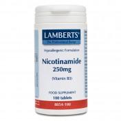 Lamberts Nicotinamide 250mg 100tabs