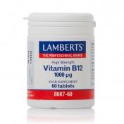 Lamberts Vitamin B12 Methilcobalamin 1000μg 60tabs