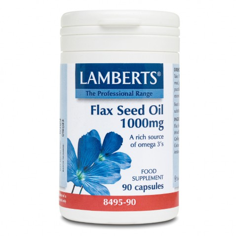 Lamberts Flax Seed Oil 1000mg 90caps αρχική   βιταμινεσ συμπληρωματα   δημοφιλεισ κατηγοριεσ   omegas   ιχθυέλαια   λ