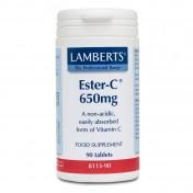 Lamberts Ester C 650mg 90tabs
