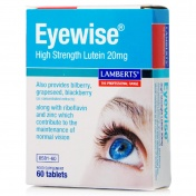 Lamberts Eyewise Hight Strength Lutein 20mg 60tabs