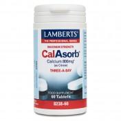 Lamberts Calasorb Calcium 800mg 60tabs