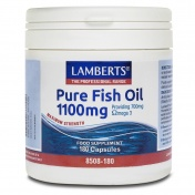 Lamberts Pure Fish Oil 1100mg 180caps