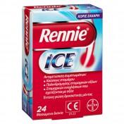 Bayer Rennie Ice Αντιόξινα Μασώμενα Δισκία 24tabs