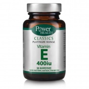 Power Health Vitamin E 400iu Classics Platinum Range Caps 30