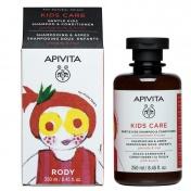 Apivita Kids Σαμπουάν & Conditioner Με Ρόδι & Μέλι 250ml