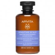 Apivita Sensitive Scalp Shampoo Με Λεβαντα & Μελι 250ml