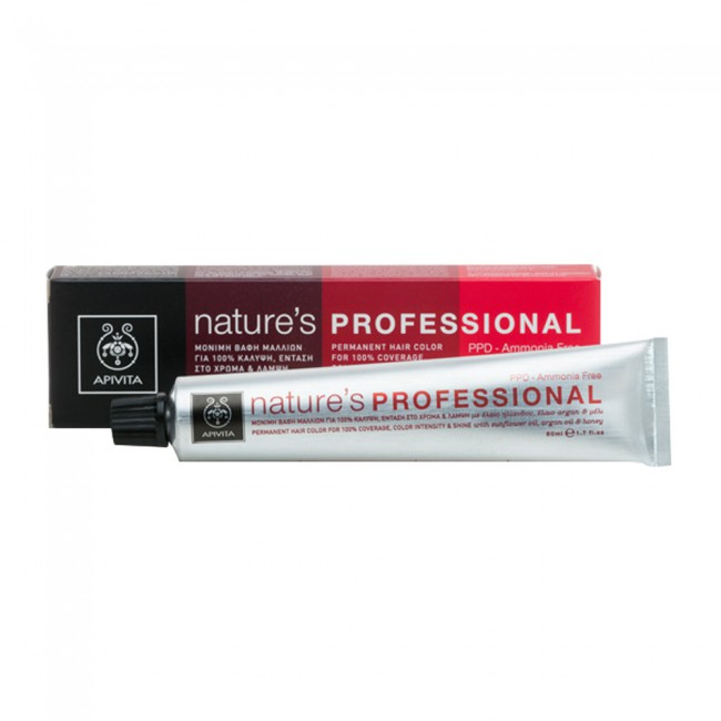 Apivita Nature s Professional Hair Color 6.41 Ξανθό Σκούρο Χάλκινο Σαντρέ 553f43c6d60