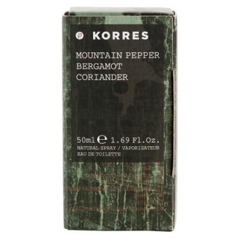 Korres Fragrance Men Mountain Pepper 50ml αρχική   καλλυντικα   αρωματα   κολωνιεσ   δωρα   για τον άντρα