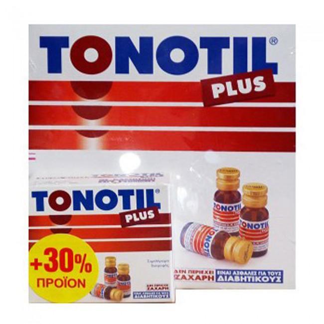 Tonotil Tonotil Plus Πόσιμες Αμπούλες 10x10ml & ΔΩΡΟ 3x10ml