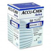 Roche Accu-Chek Aviva 50 Ταινίες Μέτρησης Σακχάρου