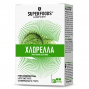 Superfoods Chlorella 350mg 50 Κάψουλες