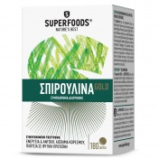Superfoods Spirulina Gold 300mg 180 Δισκία