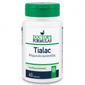 Doctor's Formulas Tialac Φόρμουλα Δυσανεξίας 60caps