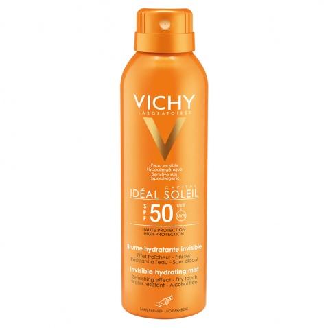 Vichy Ideal Soleil Ενυδατικό Αόρατο Mist Spf50 200ml 41576