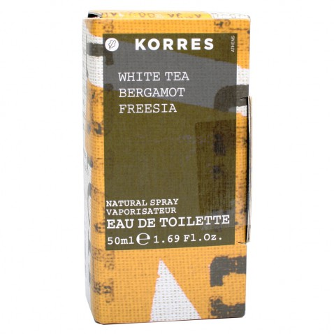 Korres Γυναικείο Άρωμα White Tea Bergamot Freesia 50ml αρχική   καλλυντικα   αρωματα   κολωνιεσ   δωρα   για τη γυναίκα