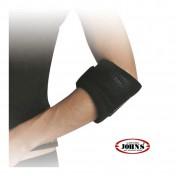 John's Tennis Elbow Strap Wrap Around Black Line One Size (120172)
