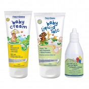 Frezyderm Πακέτο Baby Cream 175ml + Baby Liquid Talk 150ml + Baby ABCC 50ml
