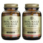 Solgar Πακέτο 2(Δυο) Skin Nails And Hair Formula Tabs 60