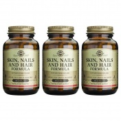 Solgar Πακέτο 3(Τρία) Skin Nails And Hair Formula Tabs 60