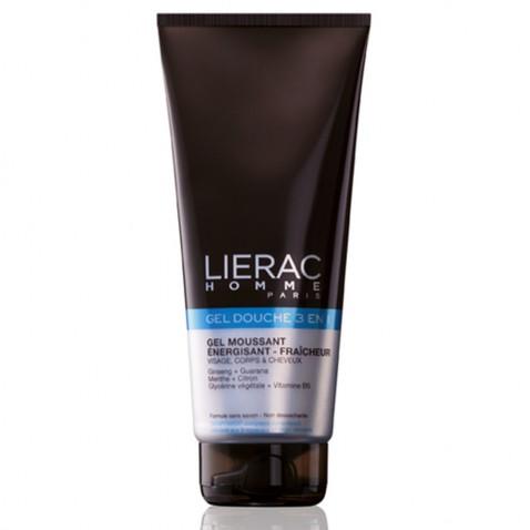 Lierac Homme Gel Douche 3 En 1 200ml αρχική   καλλυντικα   περιποιηση σωματοσ   αφρόλουτρα   καθαριστικά
