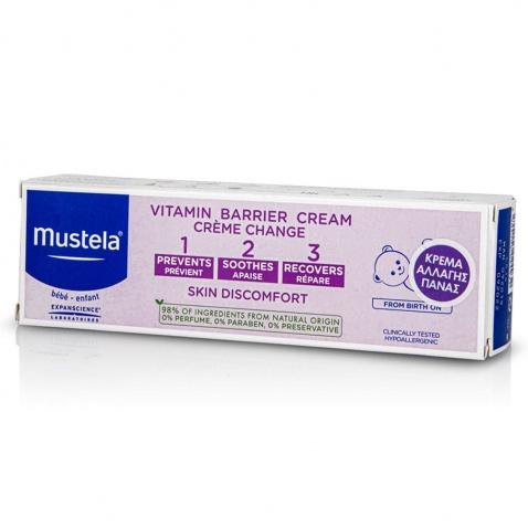 Mustela Creme Pour Le Change 1 2 3 100ml