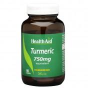 Health Aid Turmeric 750mg 60tabs